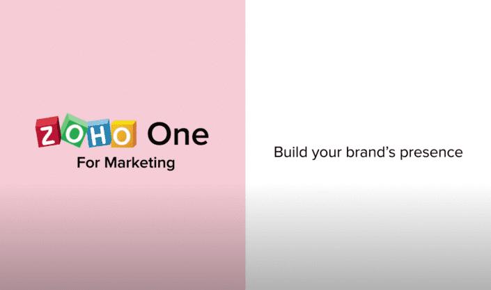 zoho vid - marketing