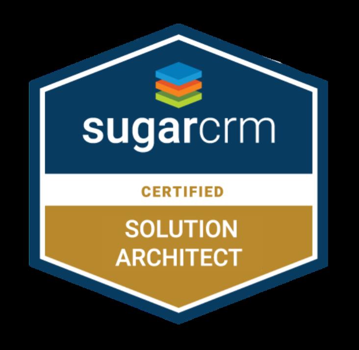 sugar solution architect badge