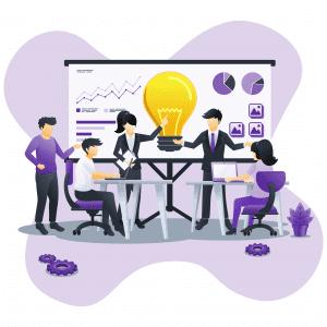 business web concept design